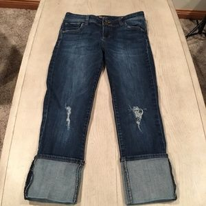 Kut from the Kloth Jeans cuffed size 2